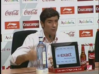 Rueda de prensa - Vídeos de Los Partidos del Sevilla