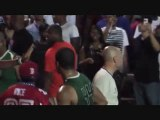 Michael Beasley Pushes Fan In The Face @ Dyckman Game (2011)