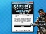 Get Free Black Ops Annihilation Map pack PS3 DLC Code