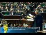 2001 Lepper wymienia sumy pieniedzy i nazwiska politykow mafijnych w Polsce cz. 2.