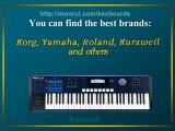 keyboards, keyboards, keyboards