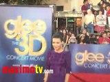 Naya Rivera GLEE The 3D CONCERT MOVIE Premiere