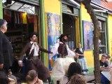 Danse traditionnelle dans le quartier de la Boca 3