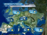 European Vacation Forecast - 08/07/2011