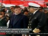 Santos pone a revisión esquema de seguridad de Colombia