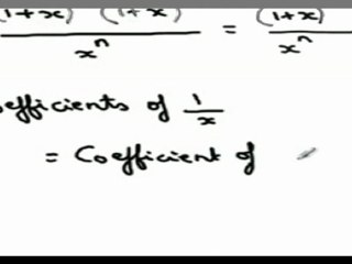 Using Summation ^nCr 2^r