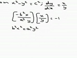 Circles - Family of Circles, Conic Section - differention in solving & perpendicularity of lines