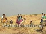 Camel safari at sam sand dunes, Jaisalmer