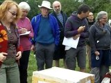 """The Perone """"Automatic"""" hive at the Natural Beekeeping Conference"""