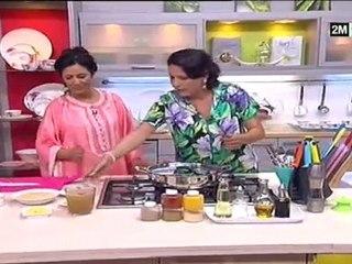 choumicha Hind Saâdidi - Tajine de cuisse de poulet aux Légumes et Riz
