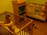 Le réveil au matin des 2 ans des jumeaux
