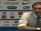"""Football365: EDF - Laurent Blanc """"J'ai vu un bon match de football"""""""