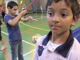 Valenciennes : les enfants des centres de loisirs s'initient au cirque