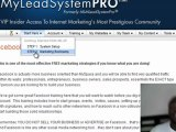 My Lead System Pro Scam or Best Attraction Marketing System?