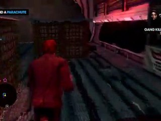 Freefalling Gameplay de Saints Row : The Third