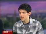 2009 Bradley James & Colin Morgan Interview