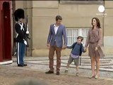 Danemark : le Prince Christian sur les bancs de l'école...