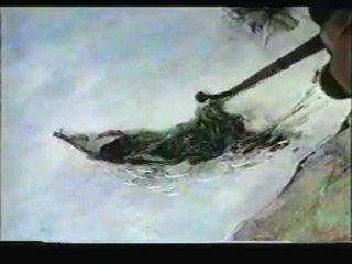"""Aleksandr Petrov: The Making of """"Mermaid"""" + """"The Old Man and the Sea"""" (~2000?)"""