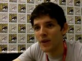 Colin Morgan interview by SFX at San Diego Comic Con 2011