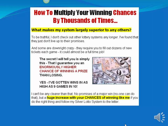*How To Win* How To Win The Lottery!! *How To Win*