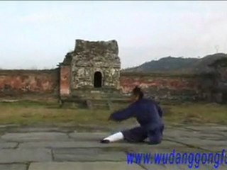 Wudang Kung Fu Monk Spade 武当功夫--方便铲