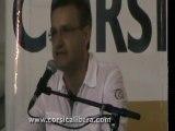 Discours de Jean-Guy TALAMONI (CORSICA LIBERA) GHJURNATE INTERNAZIUNALE 2011