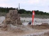 Rügen-Sandburgweltrekord in Glowe