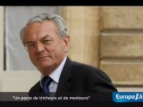 """Arthuis : un pacte de """"tricheurs et de menteurs"""""""