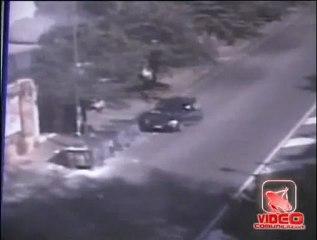 Napoli - Incidente in diretta in via Castellino