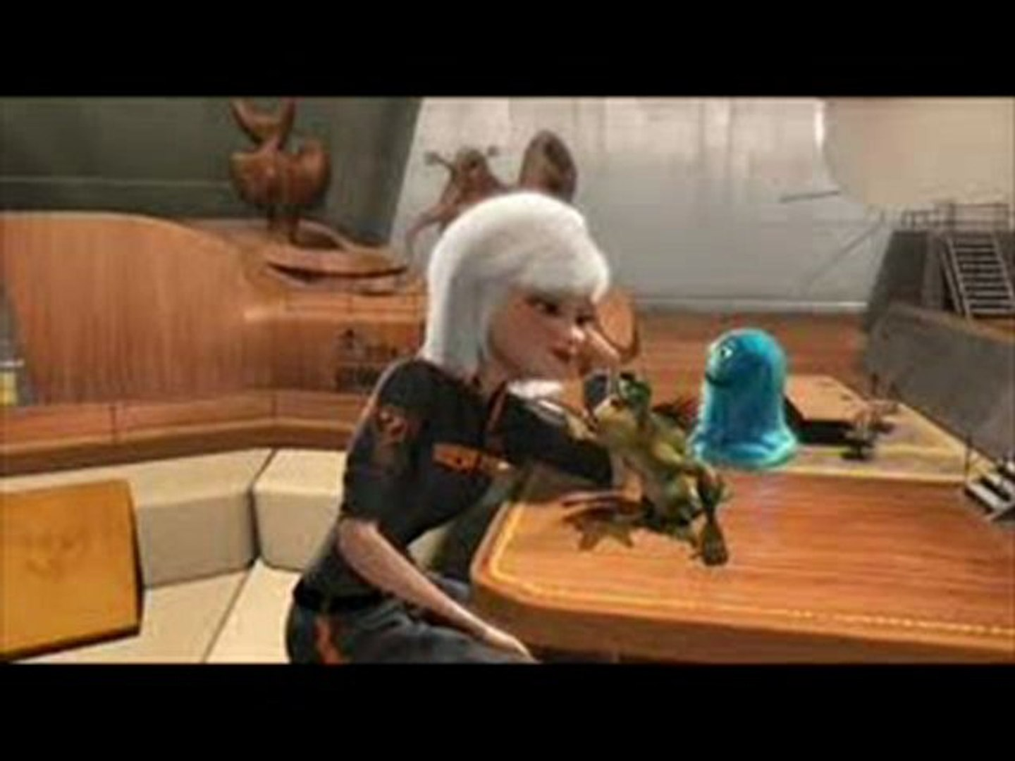 Monsters vs Aliens Mutant Pumpkins from Outer Space Movie Animated Trailer HD
