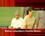 Nation remembers chacha Nehru 27th may 2010