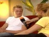 Kimi Räikkönen Wetten Dass Interview before Show