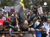 Affrontement entre les manifestants... - no comment