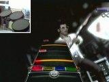 Videotest rock band 3 (guitare-batterie-micro) xbox 360