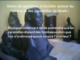 Enigmes autour du Sphinx et des pyramides de Guizeh