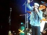 Tony Rebel écran géant - Garance Reggae Festival 2011