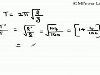 Oscillations - Time Period of Simple Pendulum - 2 - video