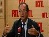 François Hollande, député socialiste et président du Conseil général de Corrèze, candidat à la primaire de son parti pour 2012, invité de RTL (19 août 2011)