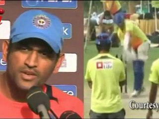 Dhoni appreciates Dravid for the Victory over West Indies
