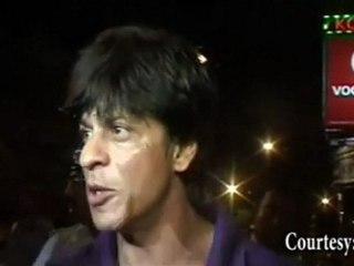 Saurav Ganguly is KKR's LUCKY CHARM : Shahrukh Khan