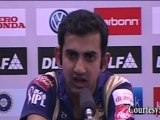 """NO COMMENTS on Fletcher"" says Gautam Gambhir"