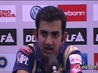"""NO COMMENTS on Fletcher"" says Gautam Gambhir"