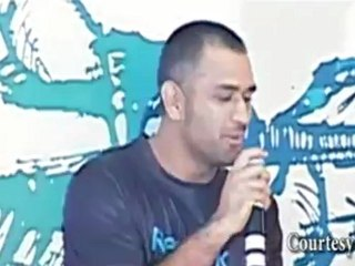 MS Dhoni's FITNESS MANTRA