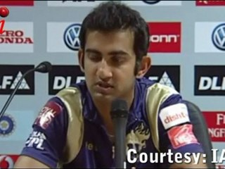 Gautam Gambhir BLAMES the KKR Batsmen