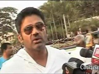 Bollywood MACHO MAN Suniel Shetty GEARS UP : India vs Pakistan