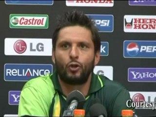 Shahid Afridi's Opinion on the India Vs Pakistan Semi Final Match
