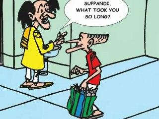 Suppandi's Adventure - How cheap!
