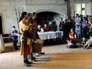 L'épopée médiévale de Loches: le groupe Vagarem à capella