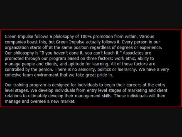 G i Marketing – Green I Marketing – Green Impulse Marketing Wayne NJ Job Opportunities