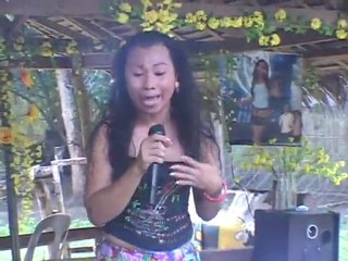 GAY SINGS LOVE FOR AMERICA, BOHOL, PHILIPPINES